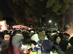 甚目寺観音 初観音 イベント警備
